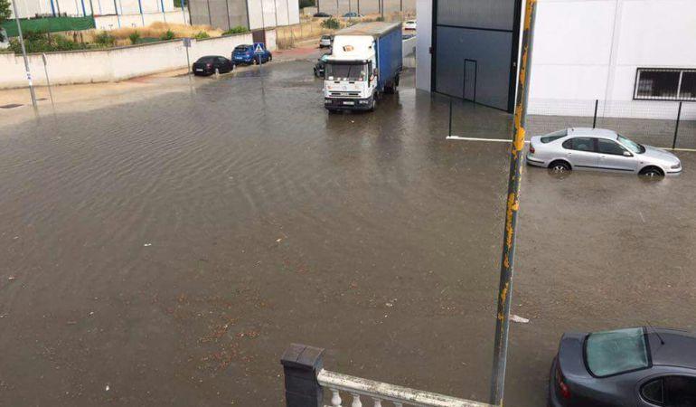 Inundaciones en Martos