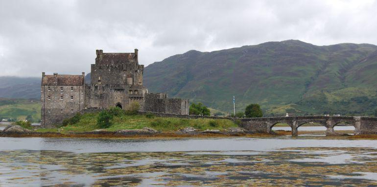Castillo de Eilean Donan en Escocia.