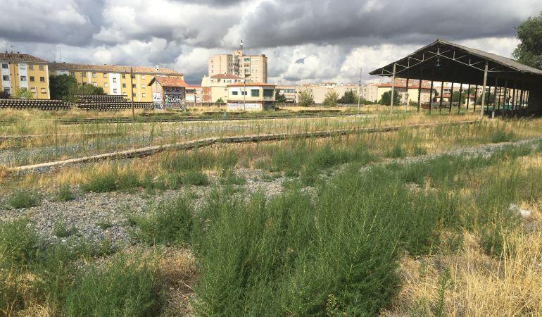 Terrenos de ADIF en el centro de la ciudad