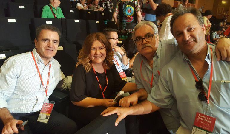 Natalia de Andrés, miembro del Comité Federal del PSOE en el 39 Congreso Federal.
