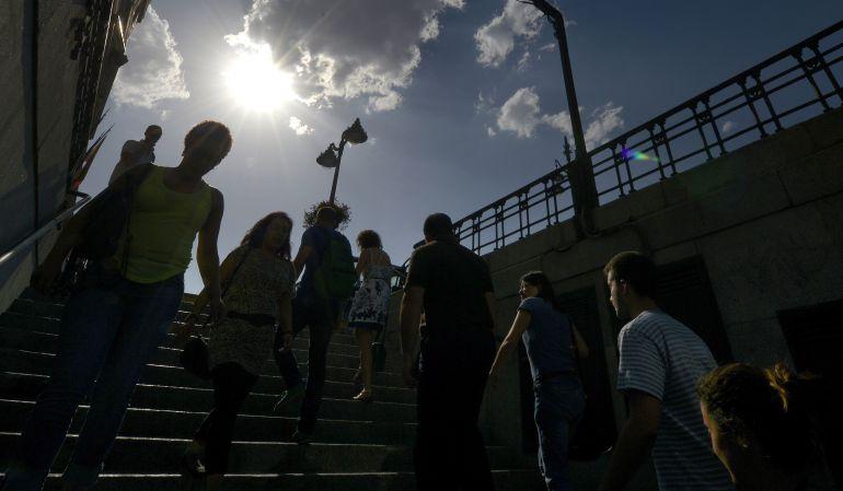 El intenso calor en la Comunidad de Madrid también tiene consecuencias en la polución atmosférica