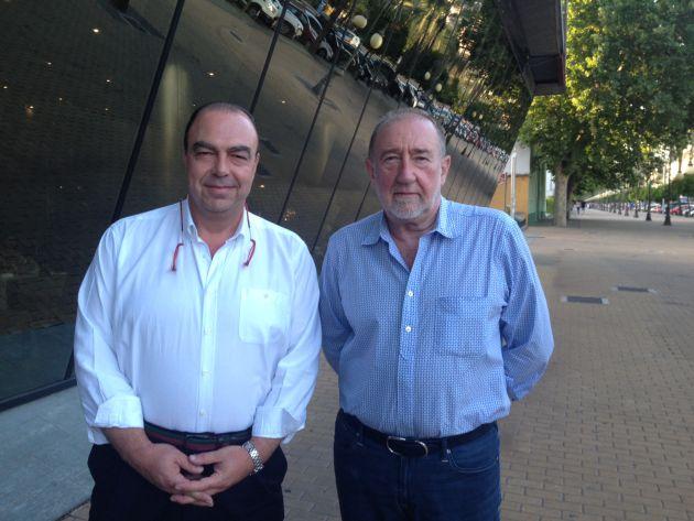 Francisco Vázquez y Jesús David Álvarez Mezquiriz