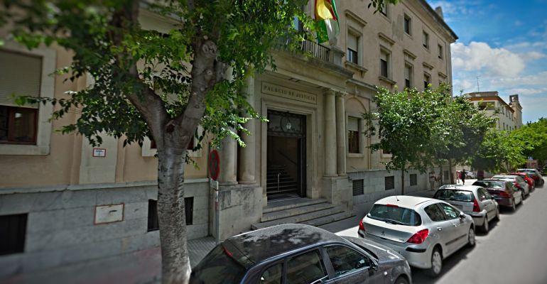 Fachada de la Audiencia Provincial de Jaén