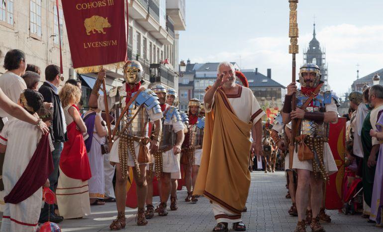 Un desfile en el Arde Lucus
