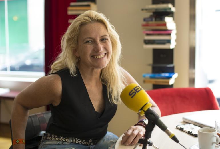 Gema Hassen Bey, tras su entrevista con Radio Madrid