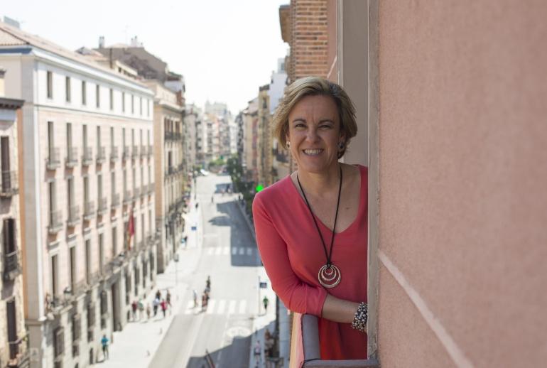Purificación Causapié, tras su entrevista con Radio Madrid