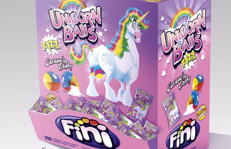 """Una empresa murciana de golosinas inventa los """"huevos de unicornio"""""""