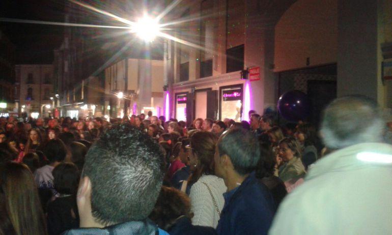 Imagen de una anterior noche de compras en Palencia