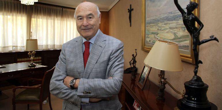 Vicente Villagrá, presidente de la Cámara de Comercio de Palencia