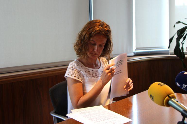 La ministra de Medi Ambient, Agricultura i Sostenibilitat, presenta els resultats dels informes.