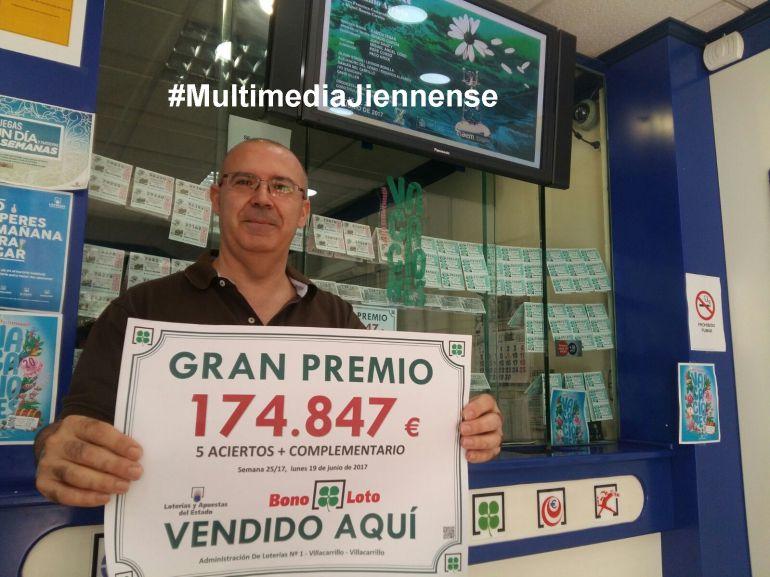 Un apostante se lleva 174.847 euros en el sorteo del lunes 20 de junio del 2017
