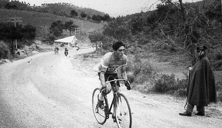 Subida de Cabrejas en 1963.