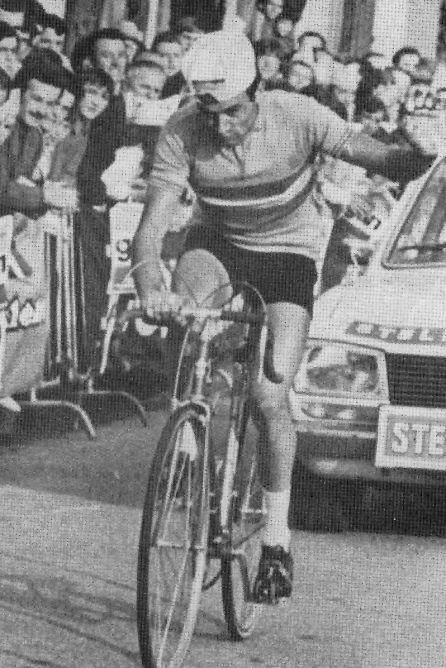 Jaime Huélamo en la Vuelta de 1973.
