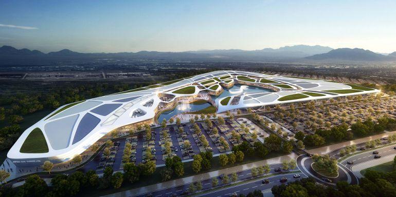 OPEN SKY CENTRO COMERCIAL COMIENZAN OBRAS: Comienzan las obras del centro comercial Open Sky