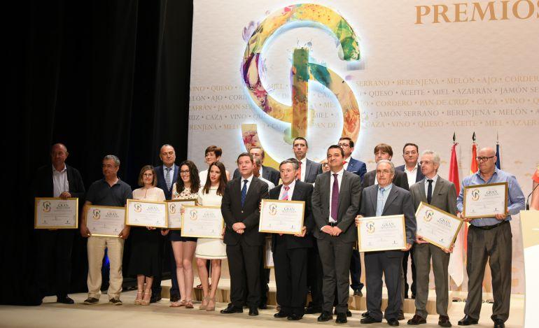 Ganadores con Emiliano García Page