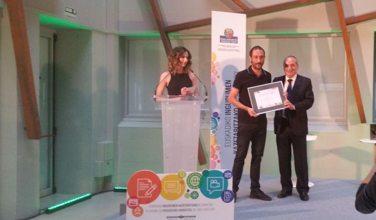 Un reportaje de Cadena SER Euskadi, premiado por su contribución a la biodiversidad