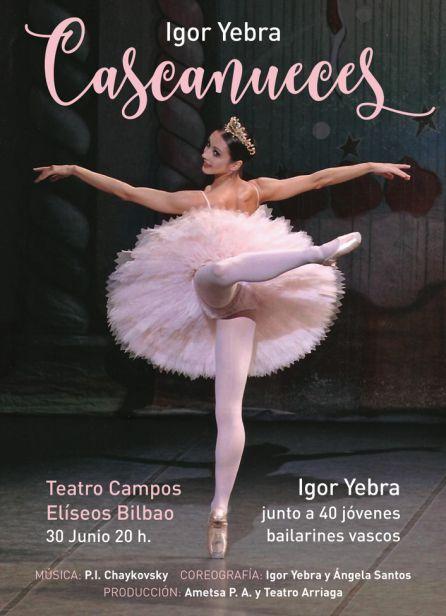 """""""Cascanueces"""" se representa el 30 de junio en el Teatro Campos Elíseos de Bilbao"""