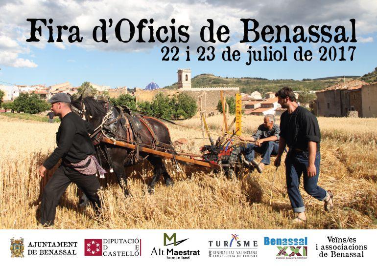 Cartel de la fira d'oficil de Benassal 2017