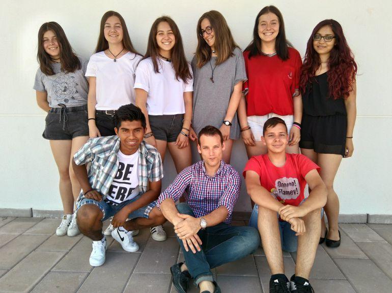 Alumnos del CEO de Prádena