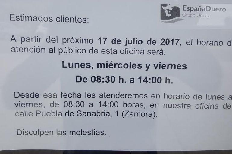 Unicaja reconvierte otras 10 sucursales de espa a duero en for Oficinas de unicaja en madrid