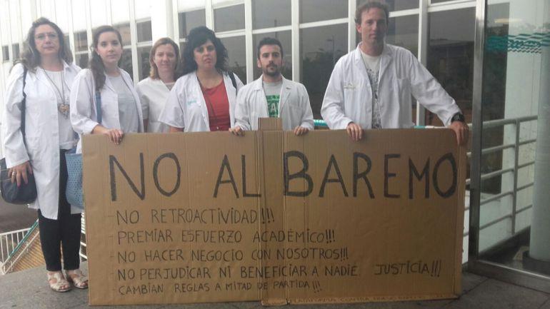 Ponen en marcha una plataforma contra los nuevos baremos para oposiciones y bolsas de trabajo del SALUD