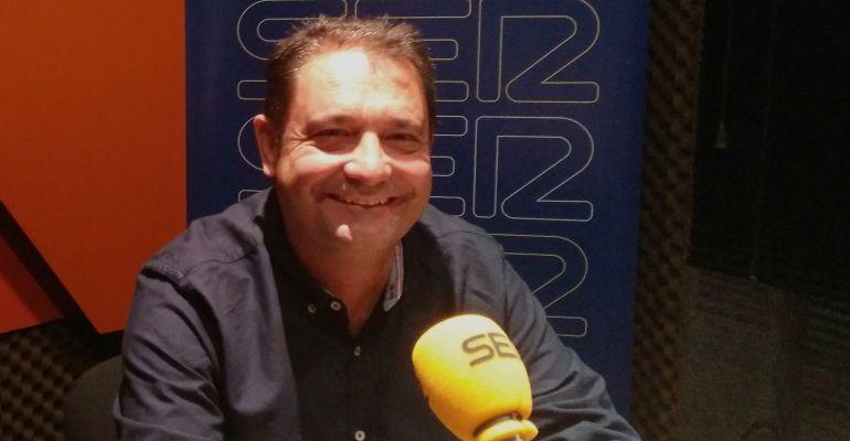 Javier Cuesta, alcalde de Paracuellos de Jarama en los estudios de SER Madrid Norte