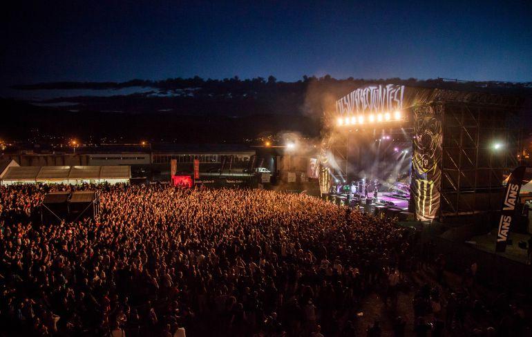 Concierto de Trivium en el Resurrection 2013.