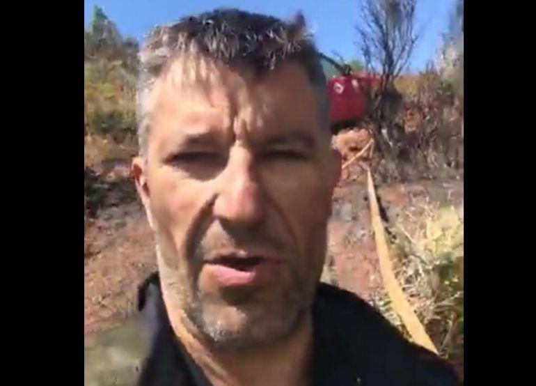 Un bombero estalla en las redes sociales por la falta de limpieza en los montes