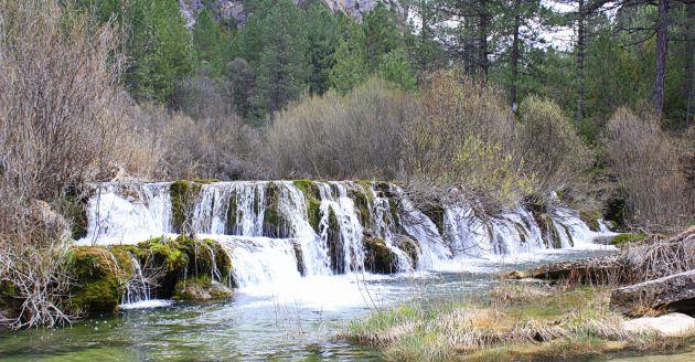 Río Cuervo en Santa María del Val.