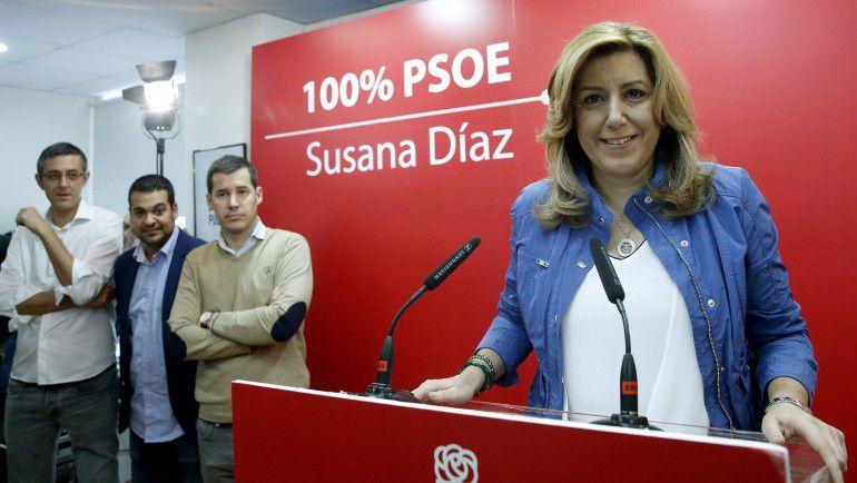 Susana Diaz vuelve a ser la secretaria general del PSOE Andaluz