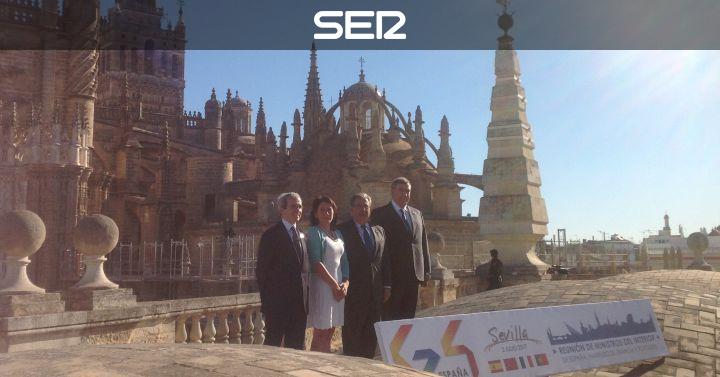 Ministros de interior del g4 analizan en sevilla la lucha for Ministros interior espana