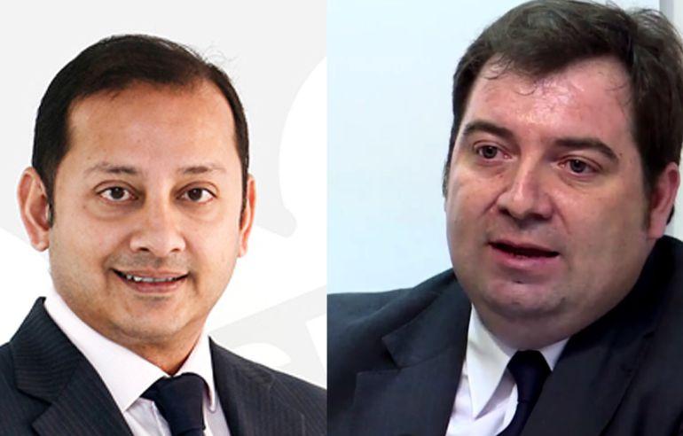 Anil Murthy y Damià Vidagany