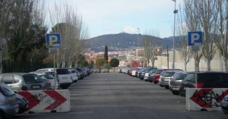 L'aparcament de dissuasió de Sant Joan Despí