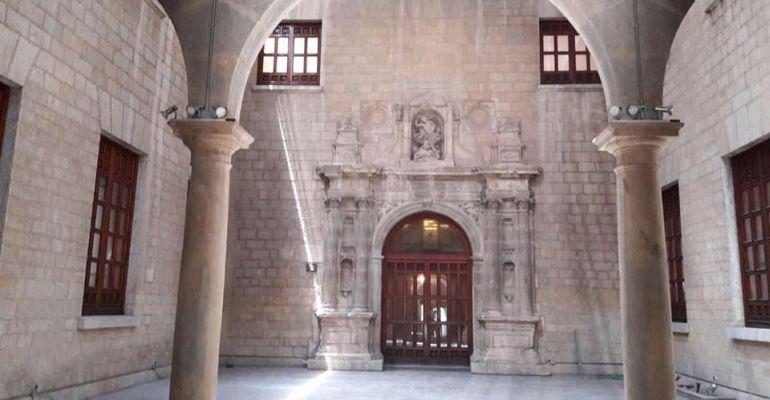 Esta es la nueva imagen del patio del museo de ja n - Arquitectos en jaen ...