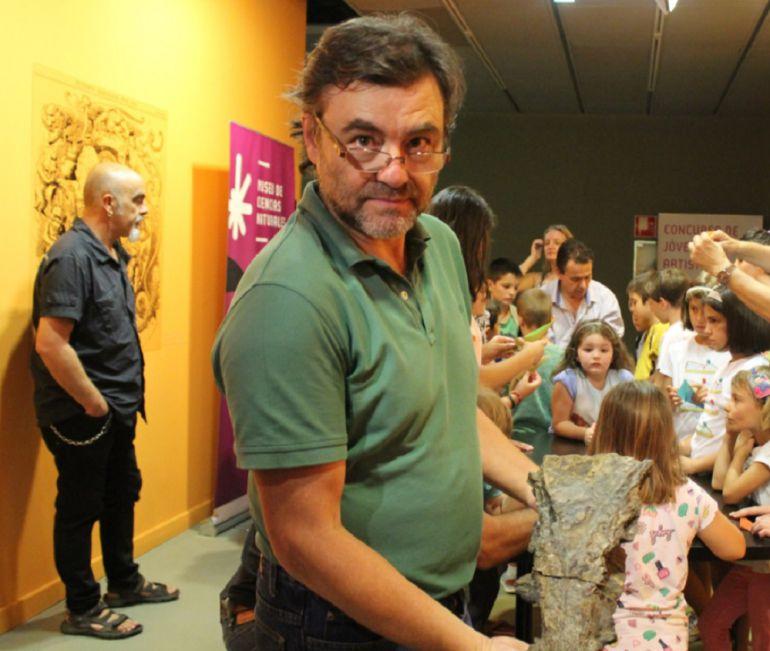 José Ignacio Canudo, director del Museo de Ciencias Naturales de la Universidad de Zaragoza
