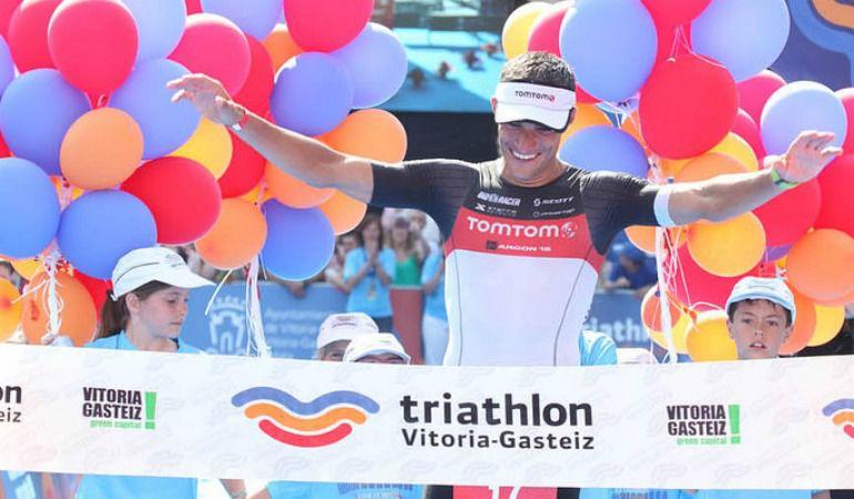 Iván Alvarez repitió y volvió a ser el más rápido en Vitoria.