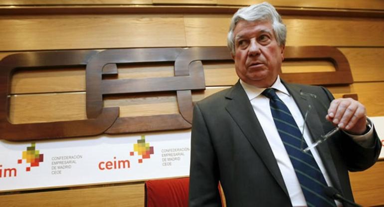 El expresidente de la patronal madrileña, CEIM, Arturo Fernández