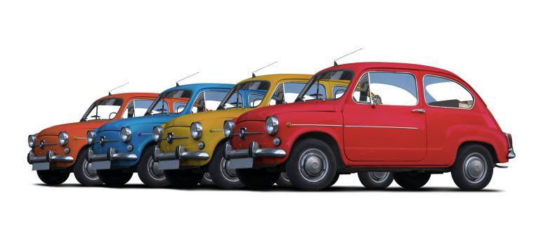 Los coches cásicos invaden Cevico de la Torre por San Martín de Tours