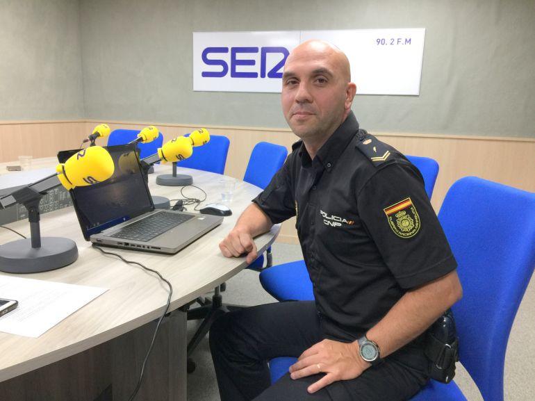 José Carlos Ferrándiz, delegado de Participación Ciudadana de la comisaría de Elda - Petrer