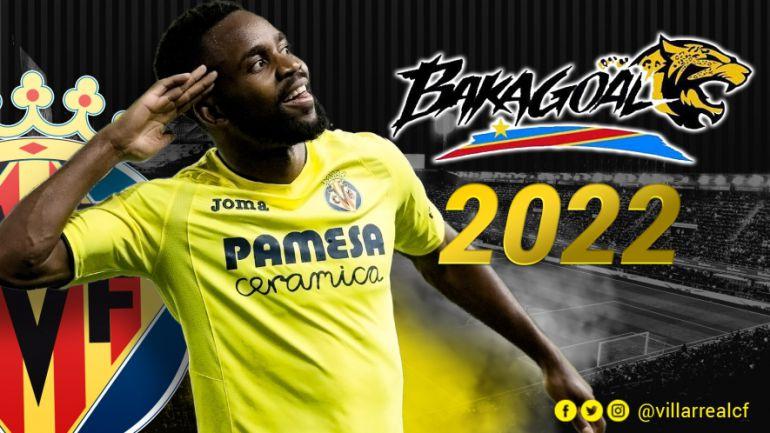 EN AMARILLO: Bakambu renueva hasta 2022