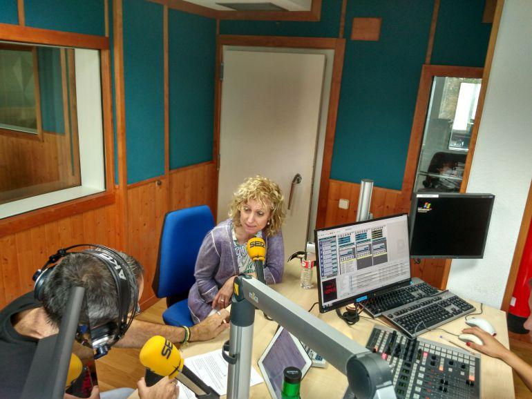 Un momento de la entrevista en Hoy por Hoy Cantabria.