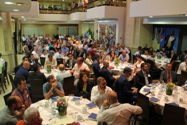 Reunión de empresarios en la presentación Segovia Talento BNI