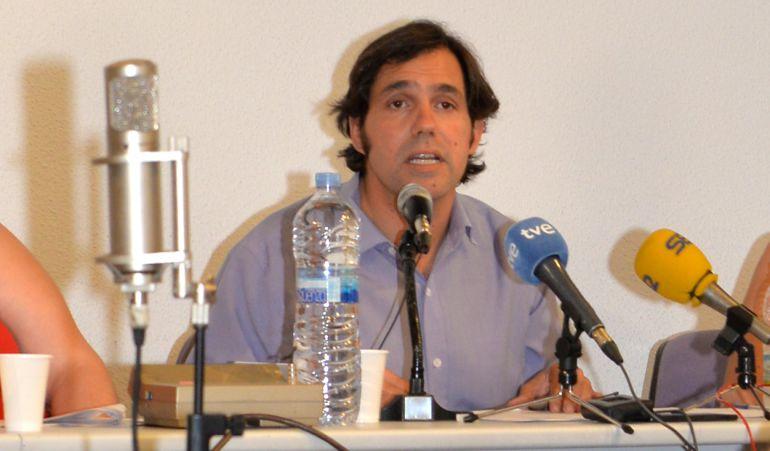 El ex alcalde Guillermo Gross durante el Pleno de moción de censura