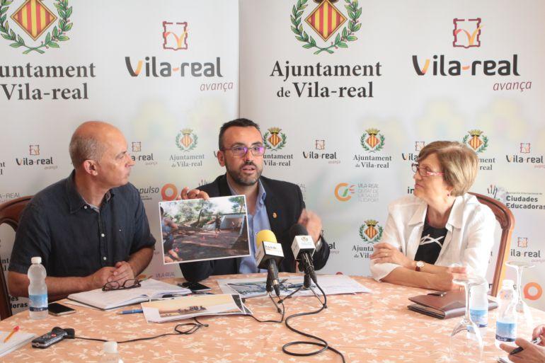 El alcalde de Vila-real, José Benlloch, presenta el nuevo plan de mejora del Termet