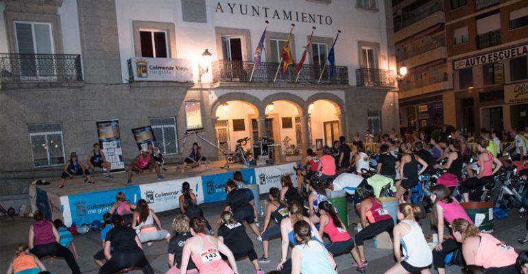 Todo listo para celebrar el IV Festival nocturno de Baile Activo y Ciclo en Sala en Colmenar Viejo