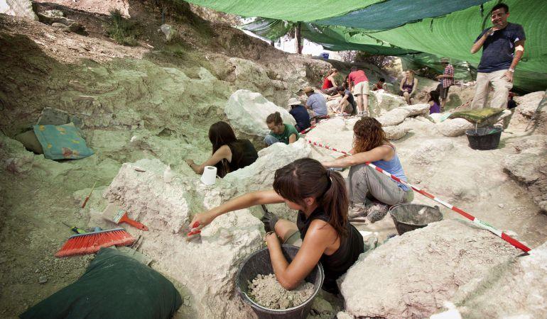 Unos 45 paleontólogos de la UCM participan en esta temporada de excacaciones del verano de 2017