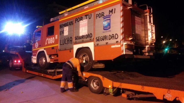 El comité de huelga de los Bomberos de Málaga denuncia al edil de Seguridad