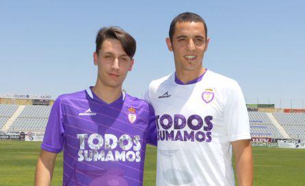Gaucho, a la izquierda, y Copete, a la derecha.