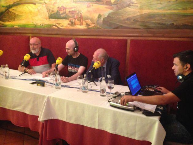 El arqueólogo, Luciano Municio, ha compartido sus recuerdos de ese momento en el programa especial que ha realizado en directo Radio Segovia.