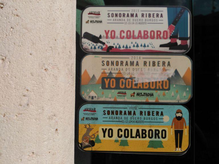 Carteles de colaboración Sonorama